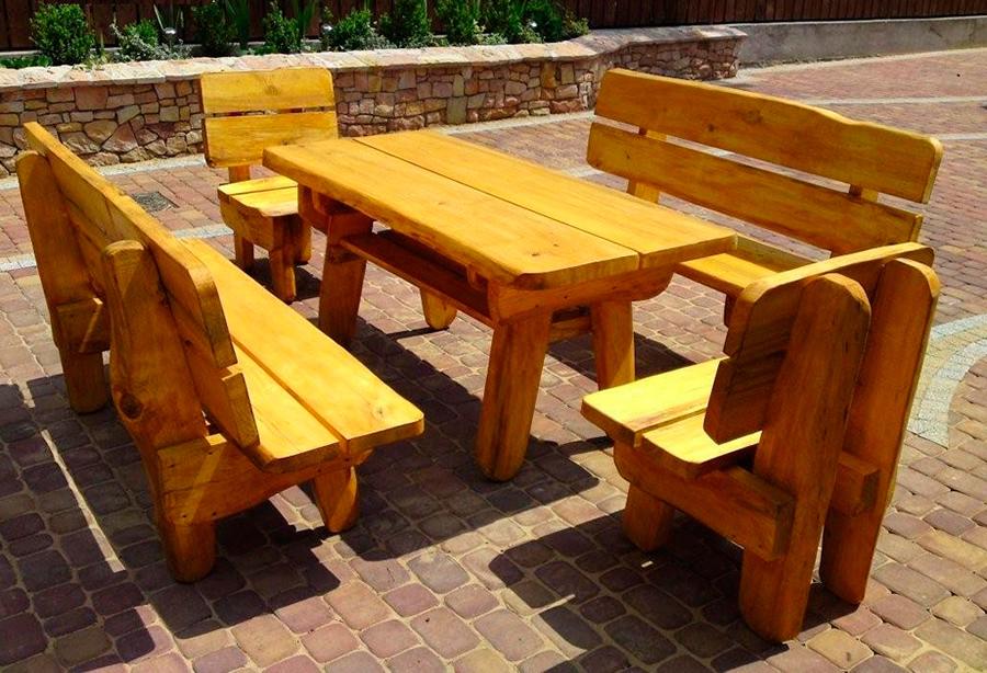 Схема деревянные столы своими руками 14
