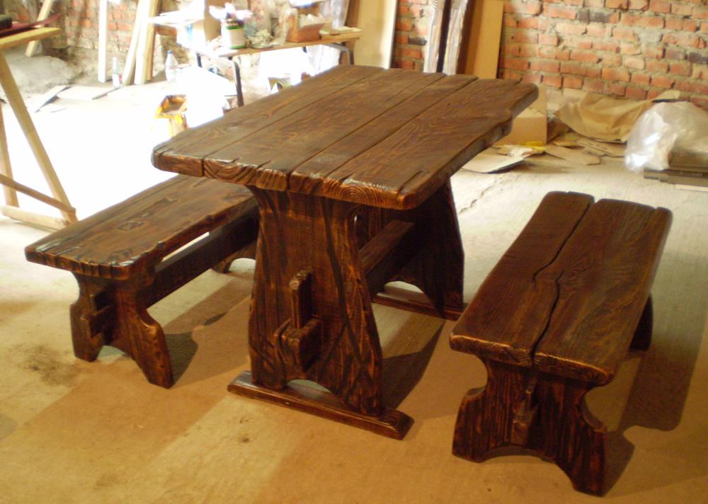 деревянные столы папа карло столярная мастерская